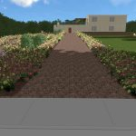 3D Gartenplanung Berlin Brandenburg Baumteufel Galabau Einfahrt