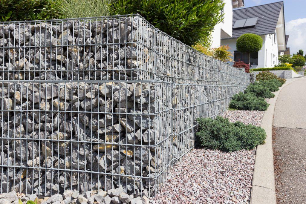 Garten und Landschaftsbau Berlin Brandenburg - Gartengestaltung in Ihrer Nähe - Gabionen